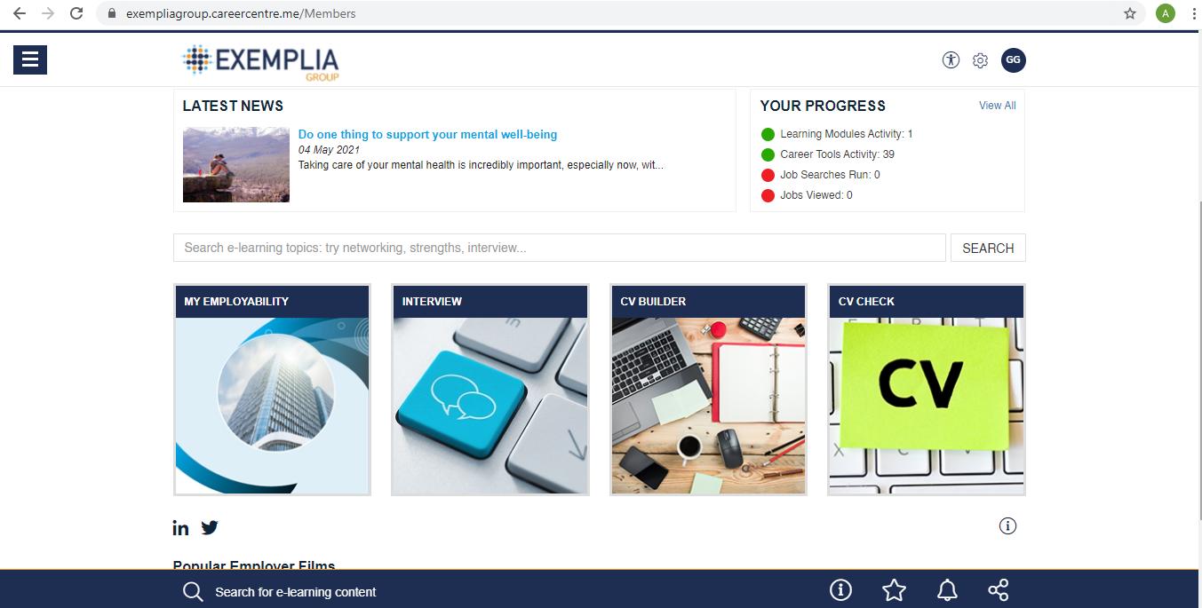 Our Online Employability Training Portal